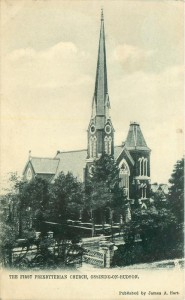church old photo