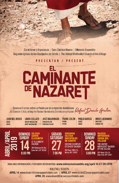 El Caminante de Nazarete - Opera
