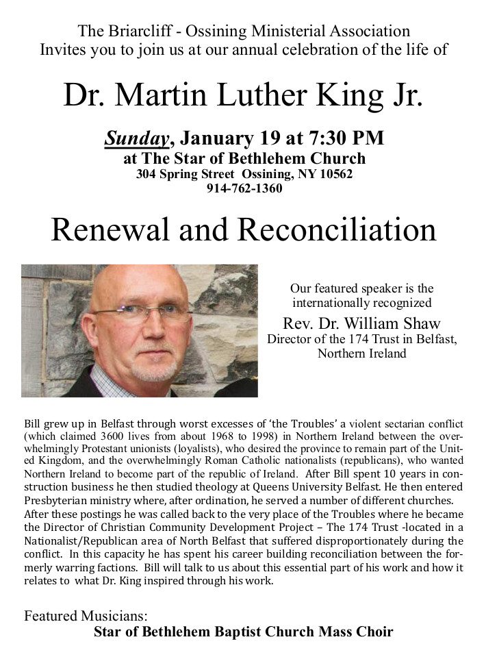 Martin Luther King Worship Service